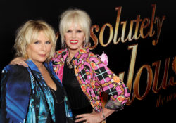 """- New York, NY - 7/18/16 - Fox Searchlight Pictures Presents The New York Premiere of """"Absolutely Fabulous: The Movie""""    -Pictured: Jennifer Saudners, Joanna Lumley -Photo by: Marion Curtis/StarPix"""