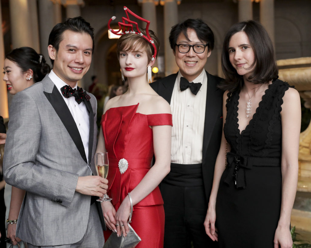Karl E. Yeh, Alexandra Bell, Hsien Y. Wong and Guest; photo: Carl Timpone/BFA.com