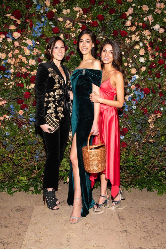 Toby Milstein, Stephanie Nass, and Noor Pahlavi; photo: Christine A. Butler