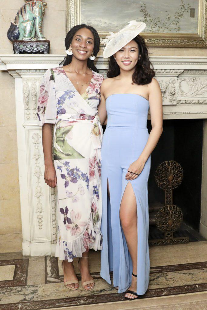 Courtney Hytower and Gloria Zhang