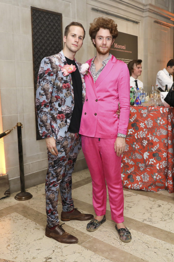 Alexander Partridge and Curatorial Assistant Geoffrey Riper