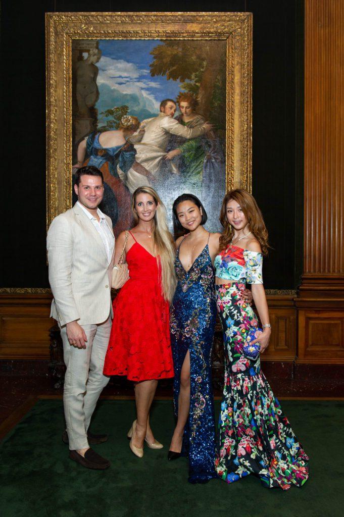 Joey Bond, Whitney Carillon, Angel Zheng and Jung Moon
