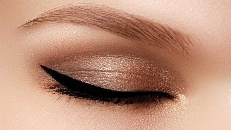 Eyeliner eye makeup zoom beauty tips