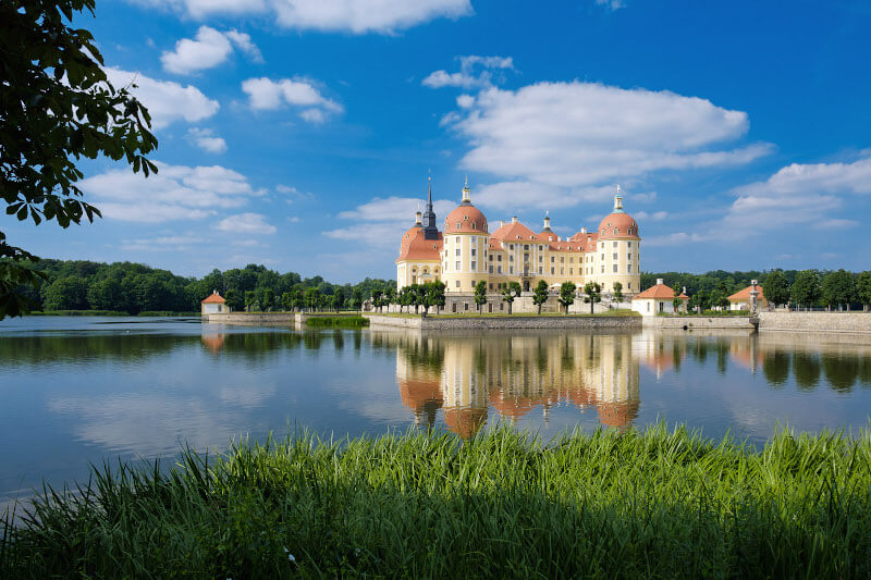 Moritzburg Castle The hunting castle of the Saxon rulers